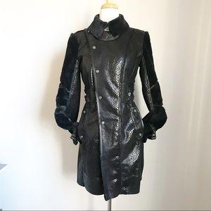 W118 by Walter Baker faux fur/vegan leather coat